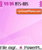 MacOSXPink theme screenshot