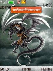 Dark Dragon 01 theme screenshot