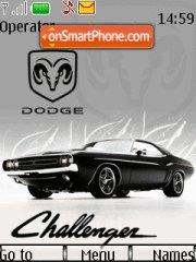 Dodge Challenger 08 tema screenshot