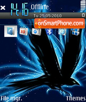 Flying 01 tema screenshot