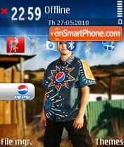 Kaka pepsi theme screenshot