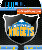 Denver Nuggets theme screenshot