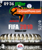 Fifa2010 01 es el tema de pantalla