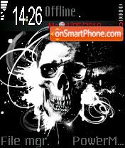 Skull 05 es el tema de pantalla