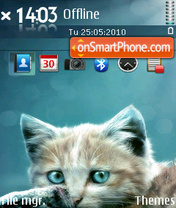 Cat 15 tema screenshot
