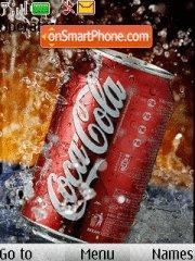 Скриншот темы Coca Cola animated