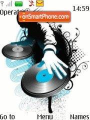 DJ astracto es el tema de pantalla