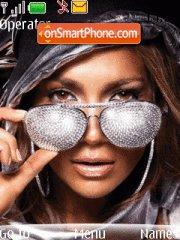 Jennifer Lopez theme screenshot