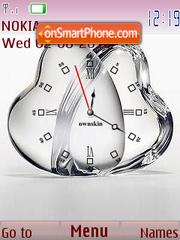 Clock cristal theme screenshot