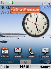 Clock Google es el tema de pantalla