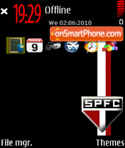 São Paulo Futebol Clube es el tema de pantalla