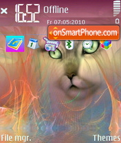 Psycat n96 theme screenshot