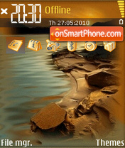 Lake 05 tema screenshot