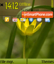 Flower 2 01 theme screenshot