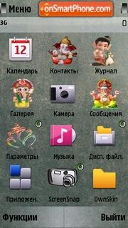 Ganesh Icons es el tema de pantalla