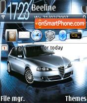 Alfa Romeo Theme es el tema de pantalla