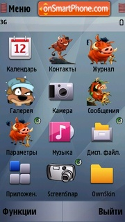 Timon And Pumba Icon theme screenshot
