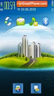 New World theme screenshot