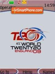 World T20 Cup theme screenshot