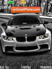 Bmw M3 08 theme screenshot