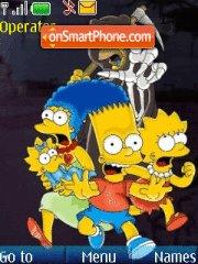 The Simpson 01 theme screenshot
