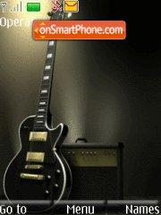 Guitar With Tone theme screenshot