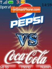 Pepsi Vs Coca Cola theme screenshot