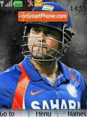 Sachin Tendulkar theme screenshot