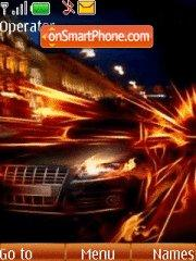 Fire Audi tema screenshot