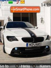 Bmw 650 Ci theme screenshot