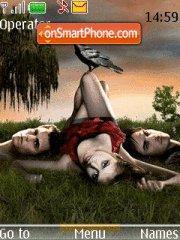 Vampire Diaries 04 theme screenshot