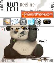 Panda 3rd icons es el tema de pantalla