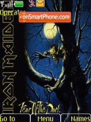 Iron Maiden 05 theme screenshot