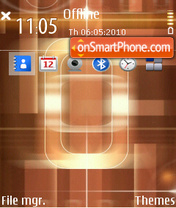 Rectangle theme screenshot