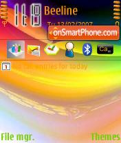 Colours es el tema de pantalla
