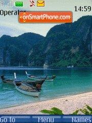 Tropical Paradise 02 tema screenshot