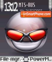 Devious theme screenshot