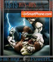 Ken And Ryu es el tema de pantalla