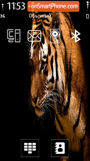 Tiger by Kallol theme screenshot