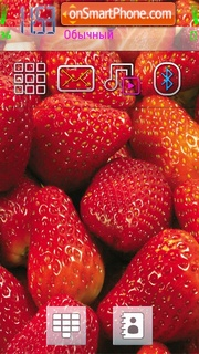 Strawberry by Kallol theme screenshot