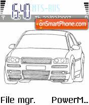 Audi S8 es el tema de pantalla