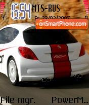 Peugeot 207 es el tema de pantalla