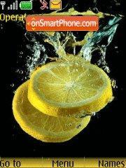 Скриншот темы Citrone