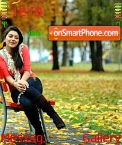 Hansika theme screenshot