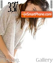 Hansika8 theme screenshot