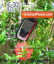 My Nokia 7610 theme screenshot