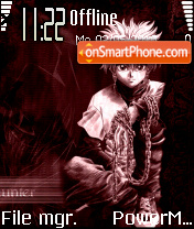 Killua 01 theme screenshot