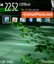 Green 07 theme screenshot