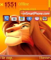 Simba 03 theme screenshot