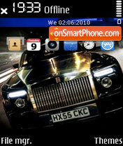 Rolls royce theme screenshot
